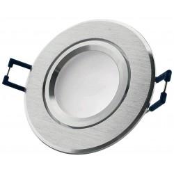 Podhledový rámeček kartáčovaný hliník kulatý ALU-R
