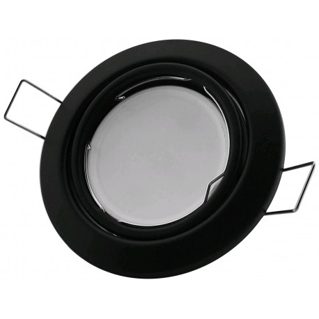 Podhledový rámeček černý matný kónický výklopný CS-B