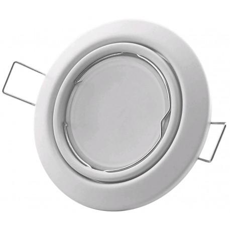 Podhledový rámeček bílý matný kónický CS-W