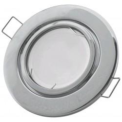 Podhledový rámeček chromový kulatý výklopný NS-CH