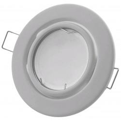 Podhledový rámeček bílý matný kulatý výklopný NS-W