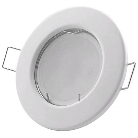 Podhledový rámeček bílý matný kulatý N-W