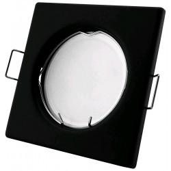 Podhledový rámeček černý matný hranatý S-B