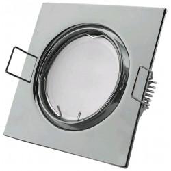 Podhledový rámeček chromový hranatý výklopný SS-CH