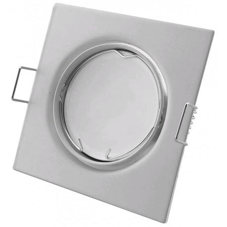 Podhledový rámeček bílý matný hranatý výklopný SS-W