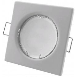 Podhledový rámeček bílý matný hranatý S-W