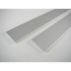 Plochý LED profil 25x2mm Elox