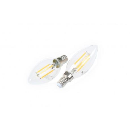 LED žárovka E14 4W stmívatelná