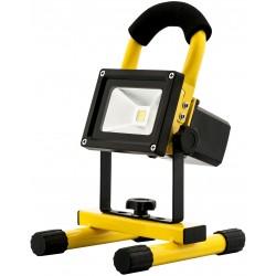 Přenosný LED reflektor 10W s akumulátorm 3,7V 2400mAh