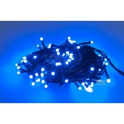 Vánoční LED řetěz - osvětlení - Modré - 150 LED 15 metrů