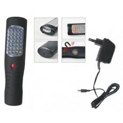 Nabíjecí LED montážní lampa s háčkem a magnetem