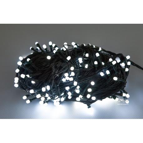 Vánoční LED řetěz - osvětlení - Bílé - 210 LED 21 metrů