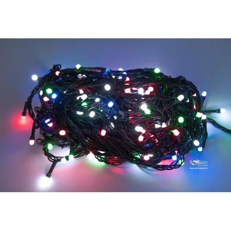 Vánoční LED řetěz - osvětlení - Barevné - 210 LED 21 metrů