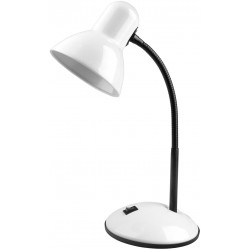 Stolní lampa pro LED žárovky E27 - Bílá
