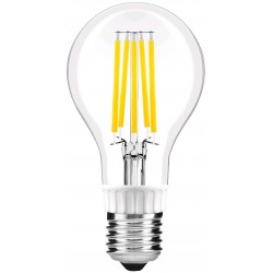 LED žárovka E27 10.5W FILAMENT retro - Čirá