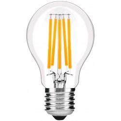 LED žárovka E27 10W 360° - Čirá