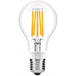 LED žárovka E27 12W FILAMENT retro - Čirá