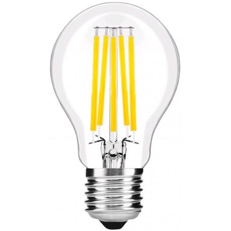 LED žárovka E27 8W FILAMENT retro - Čirá