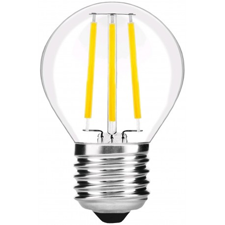LED žárovka E27 4W FILAMENT retro - Čirá