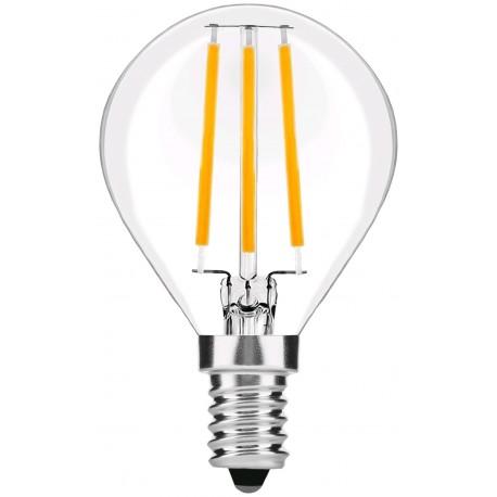 LED žárovka E14 4W FILAMENT retro - Čirá