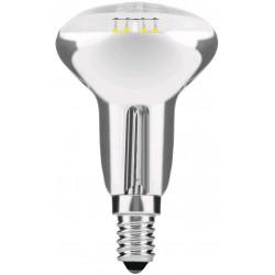LED žárovka E14 4W FILAMENT R50 - Se zrcadlem