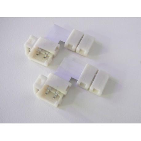 Click spojka L pro jednobarevné pásky 10mm