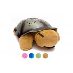 Svítící a hrajicí magická želva