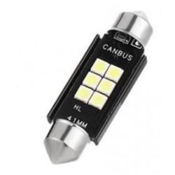 LED sufitka 41mm SMD 3030 canbus bílá