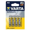 Varta Superlife Zinc-Carbon Mignon Baterie AA 4ks