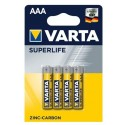 Varta Superlife Zinc-Carbon Micro Baterie AAA 4ks