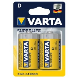 Varta Superlife Zinc-Carbon Mignon Baterie D 2ks