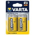 Varta Superlife Zinc-Carbon Mignon Baterie D 2ks