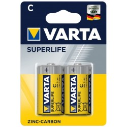 Varta Superlife Zinc-Carbon Mignon Baterie C 2ks