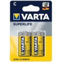 Varta Superlife Zinc-Carbon Mignon Baterie C 2ks