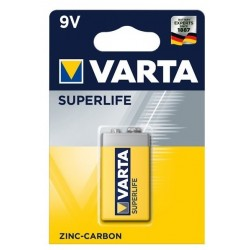 Varta Superlife Zinc-Carbon Mignon Baterie 9V