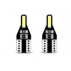 LED žárovka T10 W5W 360° bílá