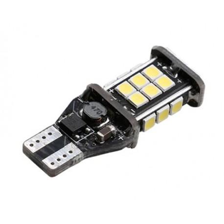 LED žárovka T15 24x3030 SMD bílá