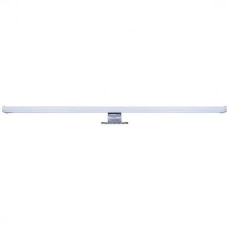 LED koupelnové osvětlení nad zrcadlo, 12W, 900lm, 4000K, IP44, 60cm, stříbrné