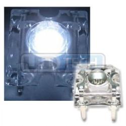 LED dioda Flux piranha studená bílá 120°