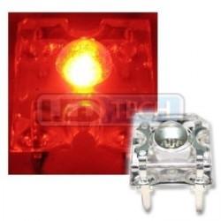 LED dioda Flux piranha červená 120°