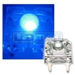 LED dioda Flux piranha modrá 120°