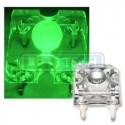 LED dioda Flux piranha zelená 120°