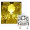 LED dioda Flux piranha žlutá 120°