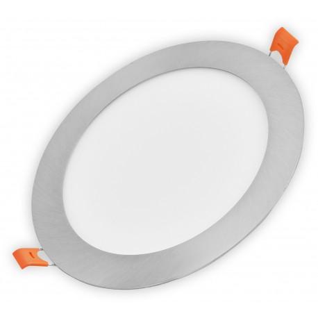 Nerez LED panel 24W kulatý 296mm