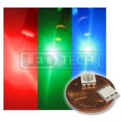 LED smd dioda 5050 RGB 600/1100/350 120°