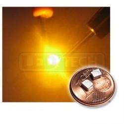 LED smd dioda 3528 PLCC-2 žlutá - 170mcd / 120°