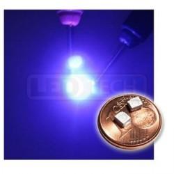 LED smd dioda 3528 PLCC-2 UV 120°