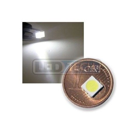 LED smd dioda 5050 bílá 7040mcd 120°