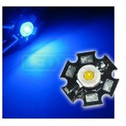 LED dioda 1W výkonová MODRÁ 470nm