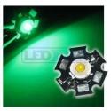 LED dioda 1W výkonová ZELENÁ 525nm